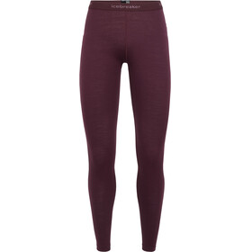 Icebreaker 200 Oasis Leggings Women Velvet